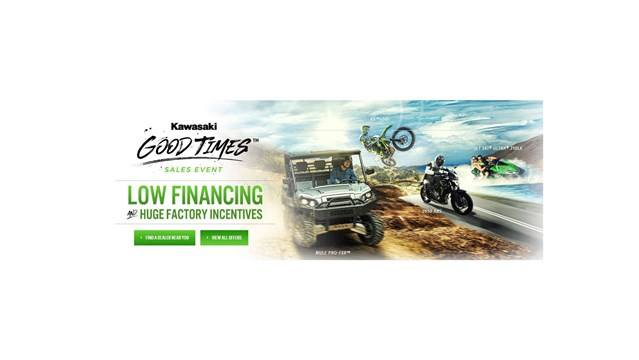 Kawasaki - Good Times Sales Event - Financing